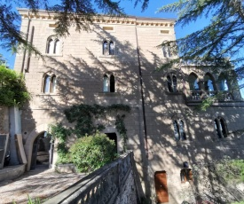 In a beautiful Etruscan village suspended between sky and sea a castle on the archipelago