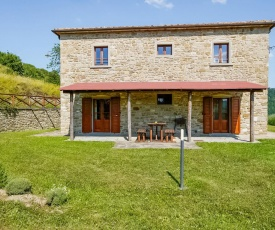 Spacious Holiday Home in Anghiari Tuscany with Hill view