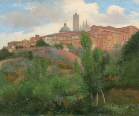 To dream in Siena