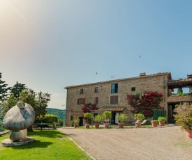 Authentic Farmhouse in Civitella with Pool