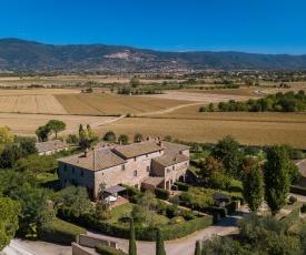 Spacious Farmhouse Apartment in Cortona Tuscany with Pool