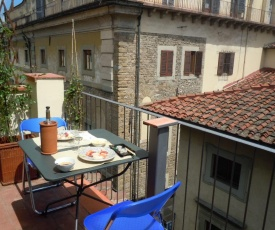 Apartment in centre of Florence, balcony and terrace with amazing view