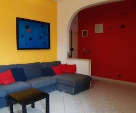 Casa colorata a Firenze